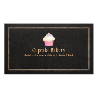 Catering Cupcake Bakery Pastry Chef Pack Of Standard Business Cards