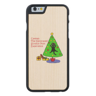 Catmas Experience Carved® Maple iPhone 6 Slim Case