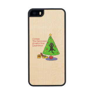 Catmas Experience Wood iPhone SE/5/5s Case