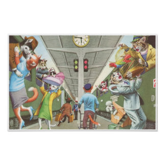 CATWALKS: All Aboard   Poster Art - Semigloss