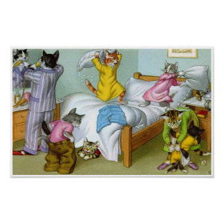 CATWALKS: Bedlam at Bedtime Poster Art - Semigloss