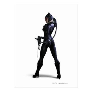 Catwoman Color Postcard
