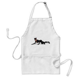 Catwoman Lurking Standard Apron
