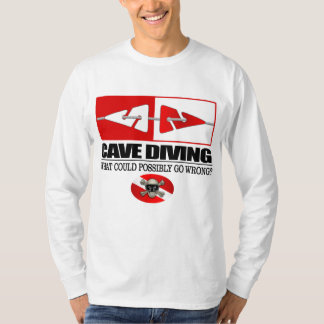 Cave Diving (Line Markers) Tee Shirt