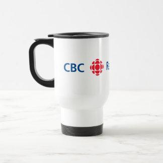 CBC/Radio-Canada logo Stainless Steel Travel Mug
