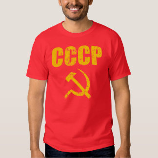 CCCP Hammer Sickle Tees