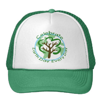 Celebrate Earth Day Every Day Trucker Hat