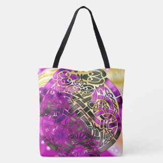 Celtic Folk Graphic 3 Tote Bag