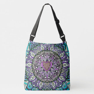 Celtic Heart Knot Mandala Tote Bag