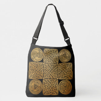 Celtic Knotwork Cross Tote Bag