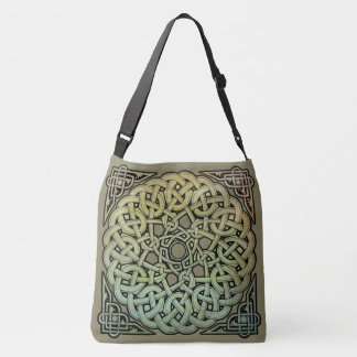 Celtic Knotwork Mandala Tote Bag