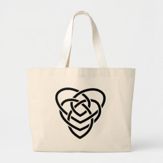 Celtic Motherhood Knot Jumbo Tote Bag