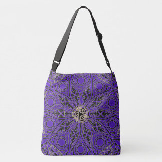 Celtic Triskele Mandala Tote Bag