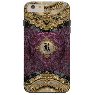 Chalchadoriz Elegance Girly  6/6s Monogram Plus Tough iPhone 6 Plus Case