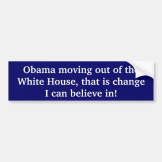 Change I Can Believe In Bumper Sticker