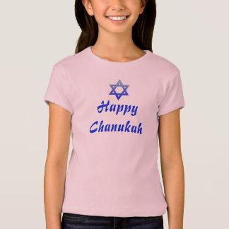 Chanukah Hanukah Hanukkah Girls T-Shirt