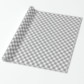 Charcoal Grey Classic Gingham Pattern Pic Nic