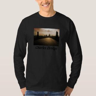 Charles Bridge Prague Long Sleeve Shirt