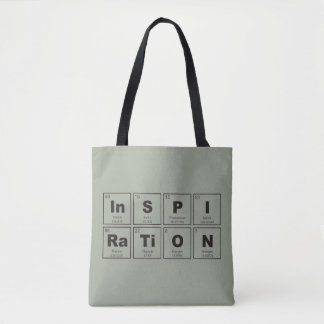 Chemical periodic table of elements: InSPIRaTiON Tote Bag