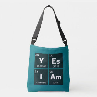 Chemical periodic table of elements: YEs IAm Tote Bag