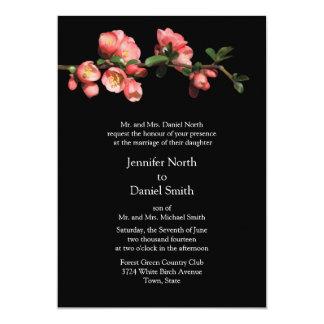 Cherry Blossom Template Wedding Invitations
