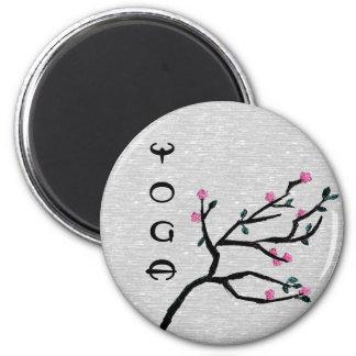 Cherry Blossom - Yoga Magnets