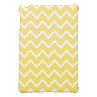 Chevron iPad Mini Case - Lemon Zest Yellow
