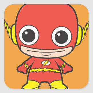 Chibi Flash Square Sticker
