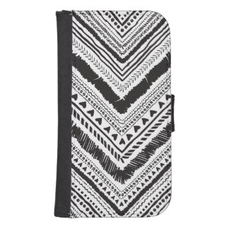 Chic case with tribal boho ornament pattern