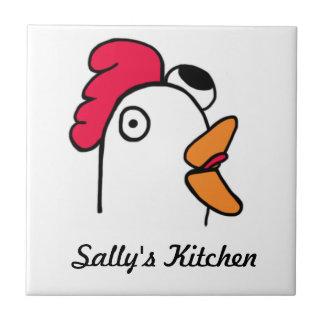 Chicken Head Kitchen Tile