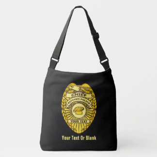 Chief Of Kitchen Police Badge Tote Bag
