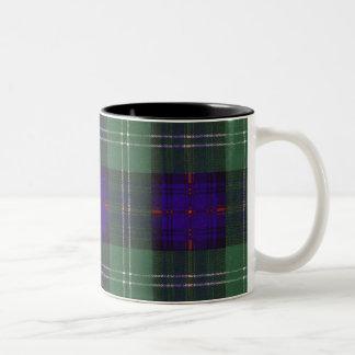 Chiene clan Plaid Scottish kilt tartan Two-Tone Mug
