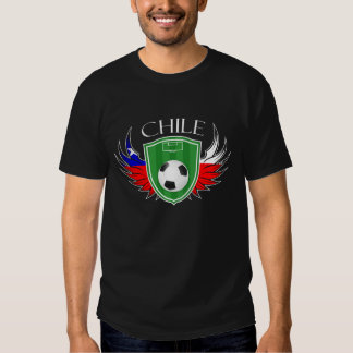 Chile Soccer Ball Football Tee Shirt