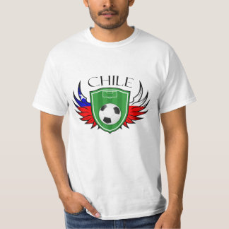 Chile Soccer Ball Football Tshirt