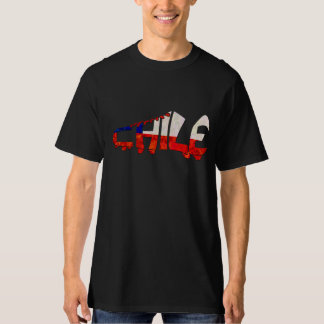 Chile Soccer Cleat Design Tee