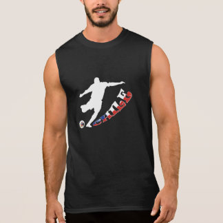 Chile Soccer Sleeveless T-shirts
