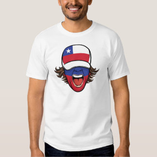 Chile sports fan t shirt
