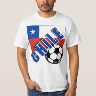 CHILE World Soccer Fan Tshirts