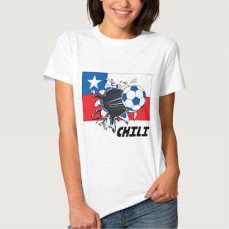 Chili Soccer Fan gear Tshirts