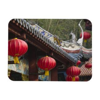 CHINA, Chongqing Province, Fengdu. Fengdu Ghost Rectangular Photo Magnet
