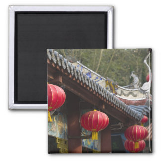 CHINA, Chongqing Province, Fengdu. Fengdu Ghost Square Magnet