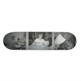 Chocolate Chip Vanilla Icecream 1974 Skateboard Deck