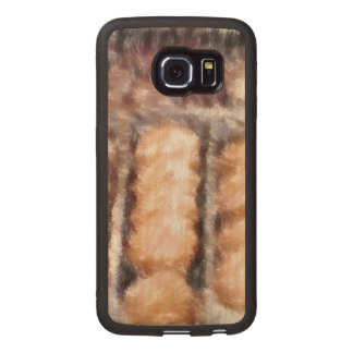 chocolate yum wood phone case