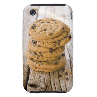 chocolte chip cookies 2 tough iPhone 3 case