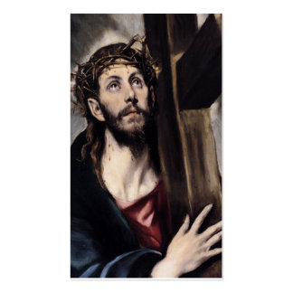 Christ Carrying the Cross circa 1580 Pack Of Standard Business Cards