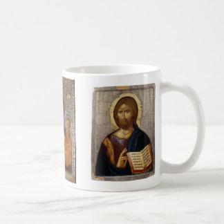 Christ, Christ, Theotokos Basic White Mug