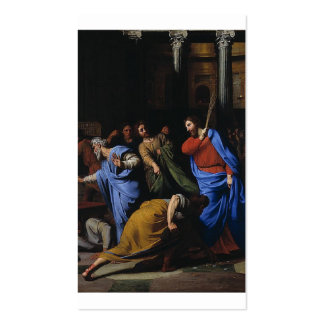 Christ Expelling the Money-Changers Pack Of Standard Business Cards