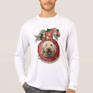 Christmas - Deck the Halls - Goldendoodles Tees