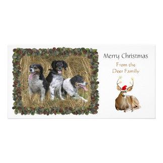 Christmas Deer Photo Card