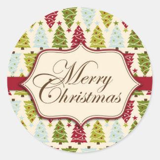 Christmas Forest Sticker